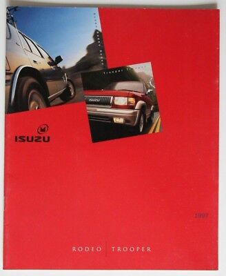 ISUZU RODEO TROOPER 1997 dealer brochure - English - Canada - ST1002000918