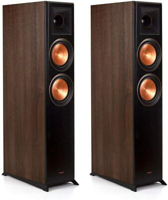 Klipsch Reference Premier RP-6000F Floorstanding Speakers in Walnut (Pair)