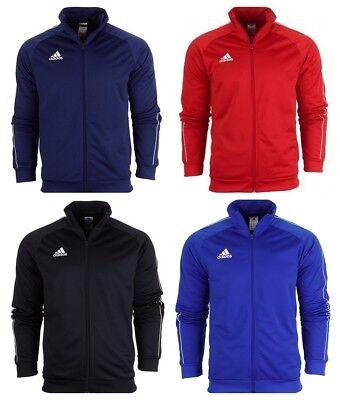 Adidas Mens Core 18 Jacket Activewear Tops Sports Football Running Gym Size