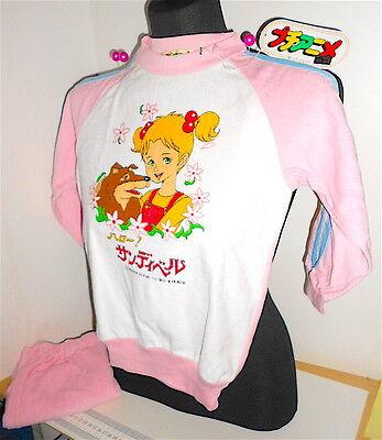 HELLO! SANDYBELL (Halo! Sandiberu) 80s Japan outfit pajamas - pigiama tuta bimba