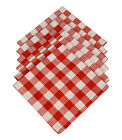 Red Checked & Gingham Napkins