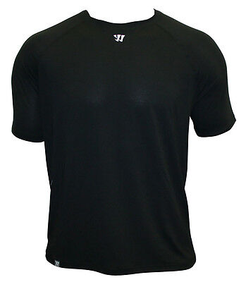 Warrior Tech Short (NEW Warrior Tech Short Sleeve Performance Adult Tee Shirt Black Retails $24.99)