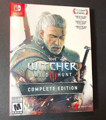 The Witcher 3 Wild Hunt [ Complete Edition ] (Nintendo Switch) NEW