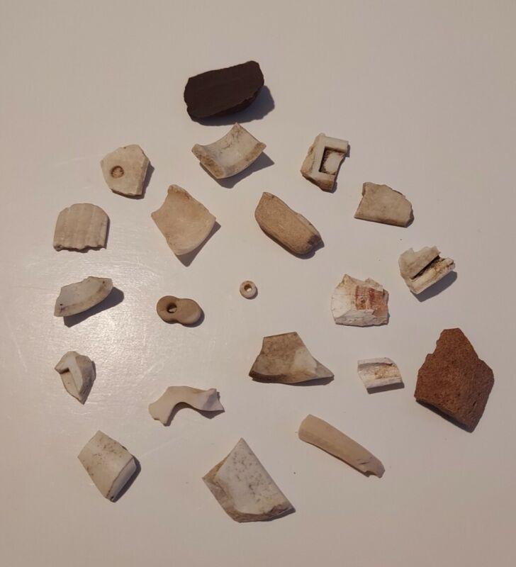 Genuine Anasazi Jewelry Shards, Beads, Indian Artifacts, Jewelry Craft, #J101