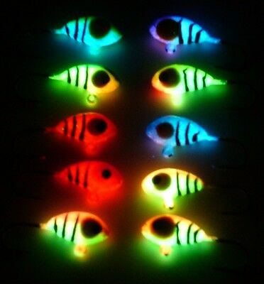 Wonder Jigs 10 pc. Worlds Best Super Hot Neon Tigers Size 8
