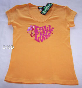 Sesame-Street-Elmo-Ladies-Orange-Printed-T-Shirt-Size-10-New
