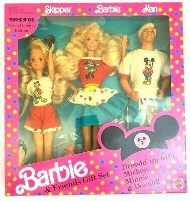 Barbie & Friends Disney Gift Set  Toys  R' Us Barbie Ken Skipper
