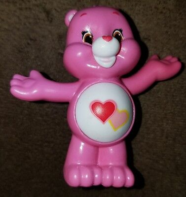 "Care Bears & Cousins Collectible Mini-Figure Series 4, 2"", Love-a-Lot Bear"