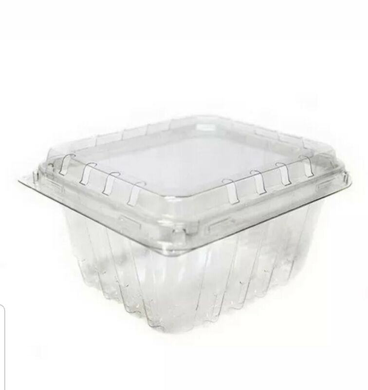 Pactiv PETE Clamshell Food Container Clear 1 lb. | 400/Case