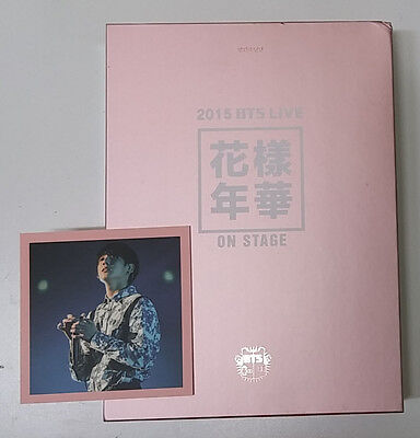 2015 BTS LIVE In The Mood For Love ON STAGE DVD,DVD+PhotoBook+JungKook PhotoCard