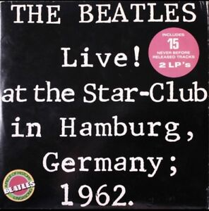 Vinyl record - The Beatles - Live! at the Star-Club - $45
