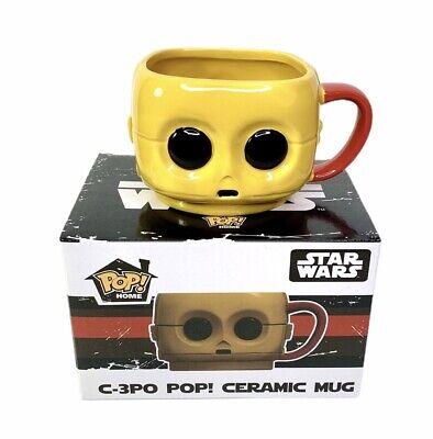 Funko Pop Home Star Wars Smugglers Bounty C-3PO Ceramic Mug New In Box C3PO