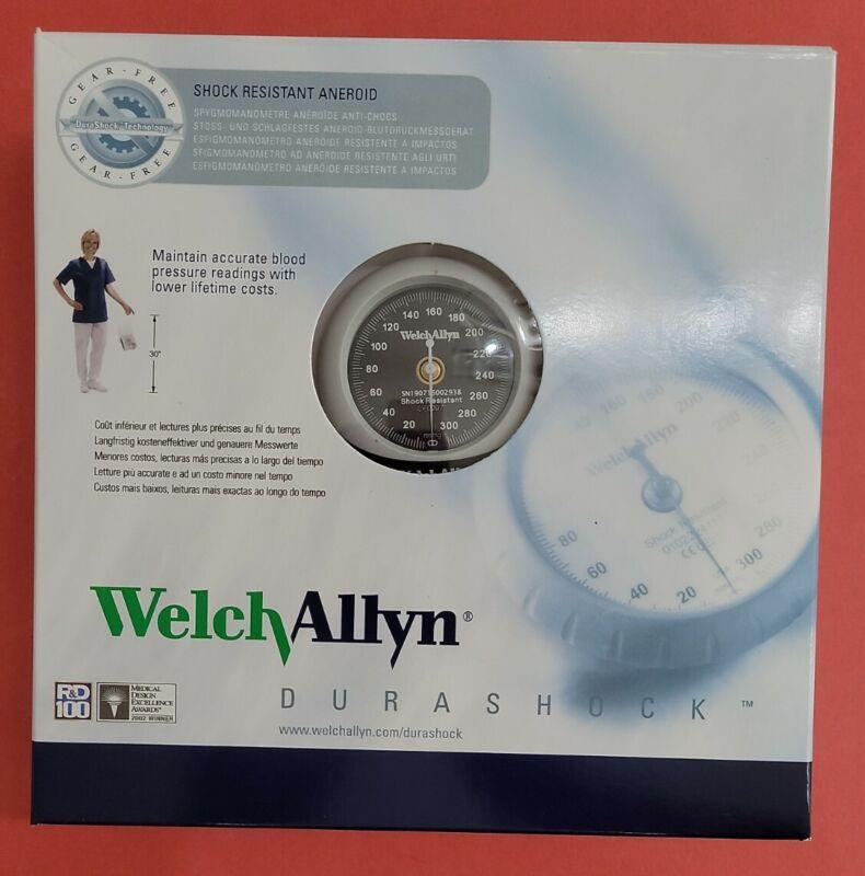 Welch Allyn DS45-12 Durashock Handheld Gauge and Large Adult Blood Pressure Cuff