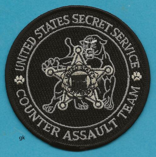 UNITED STATES SECRET SERVICE COUNTER ASSAULT TEAM SHOULDER PATCH