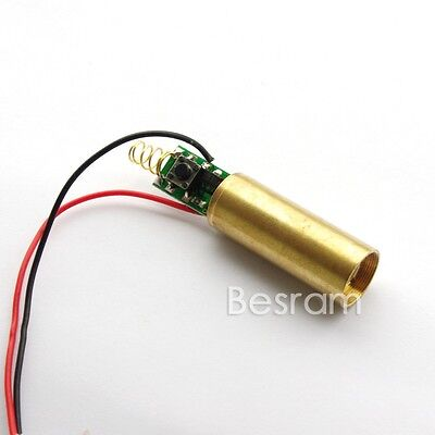 INDUSTRIAL/LAB 3VDC 532nm Green Beam Laser Lazer 30mW Diode Module on Rummage
