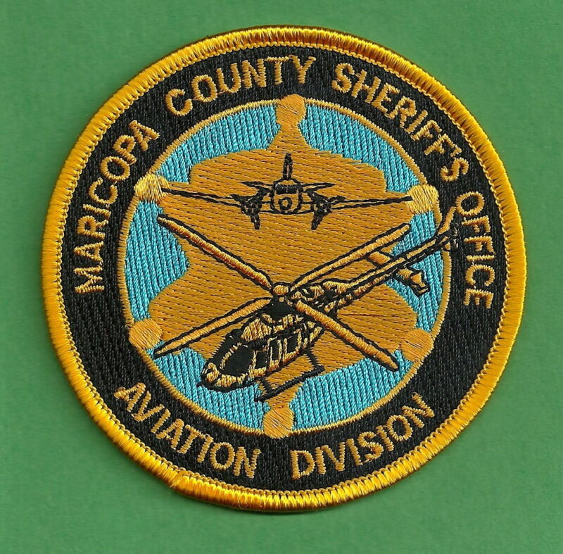 MARICOPA COUNTY SHERIFF ARIZONA POLICE AIR UNIT SHOULDER PATCH