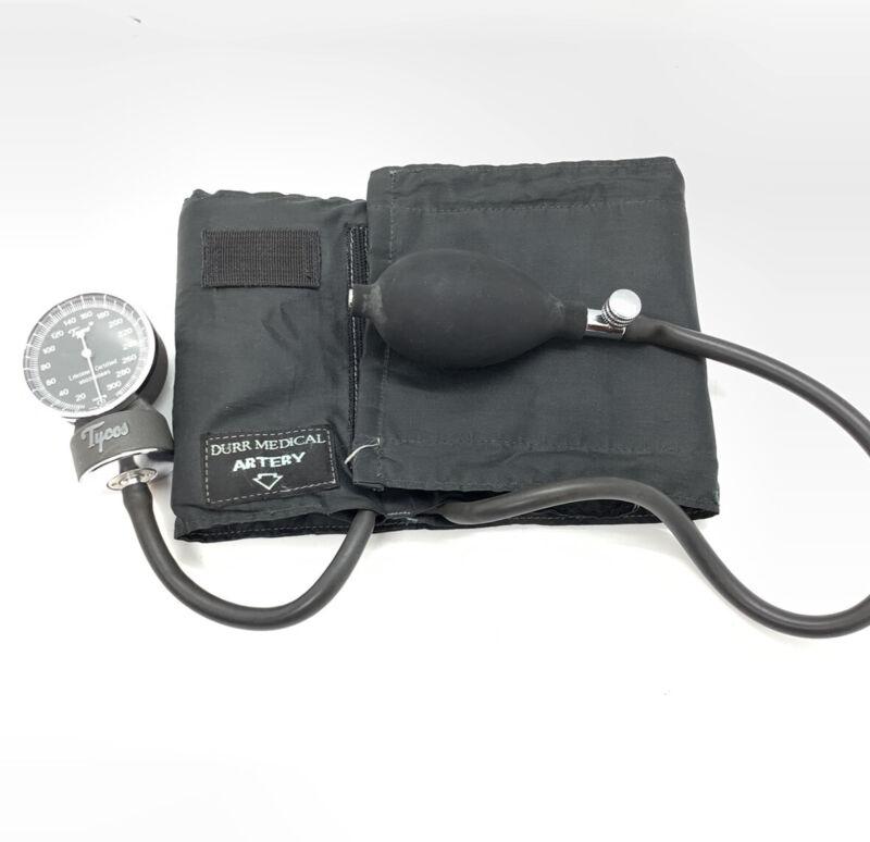 Vtg Tycos Classic Adult Aneriod Sphygmomanometer Blood Pressure Cuff