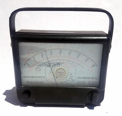 Vintage Simpson 269 Ultra High Sensitivity Volt Ohm Microammeter Multi-meter