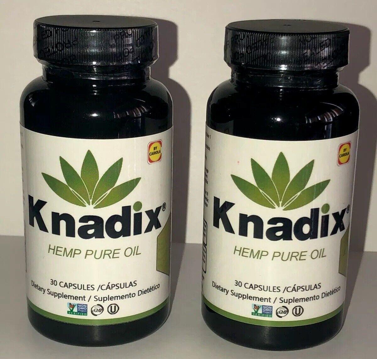 KANADIX 60 Softgels de HEMP SEED OIL 100% Pure