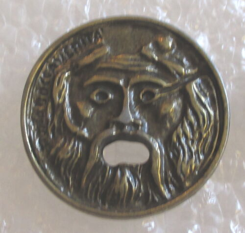 Mouth of Truth - Rome, Italy Tourist Travel Souvenir Collector Pin - Marble Mask