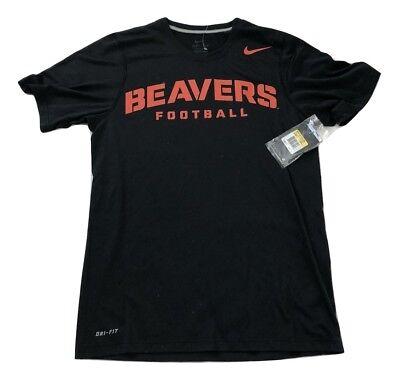 - NWT New Oregon State Beavers Nike Dri-Fit Football Practice Size Small T-Shirt