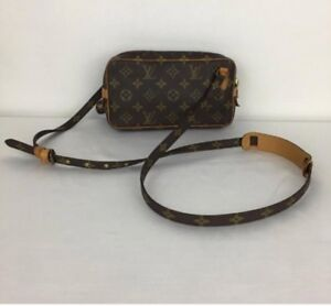 AUTHENTIC LOUIS VUITTON MARLY CROSSBODY BAG MONOGRAM
