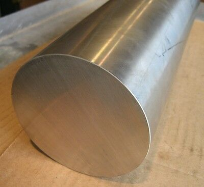 2.5 Dia X 6 Long Monel 400 Nickel Copper Round Rod Bar Stainless Steel