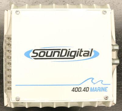 SounDigital 400.4D MARINE 400W 4-Channel Marine Audio Compact Amplifier NEW comprar usado  Enviando para Brazil