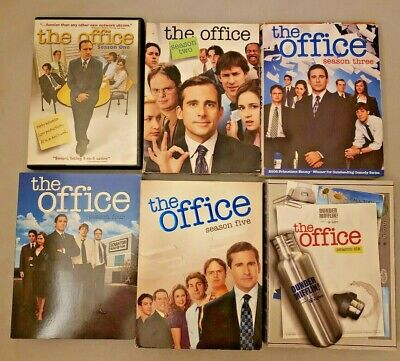 The Office - US Series - Seasons 1-6 (1,2,3,4,5,6) - DVD Box Sets - PLAY GREAT! Box Office Series