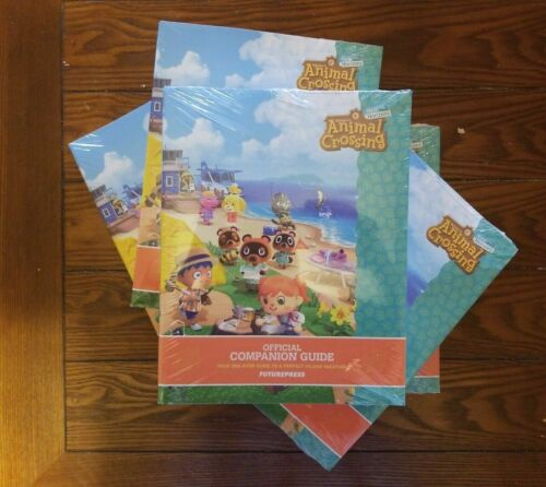 BRAND NEW! Animal Crossing: New Horizons Official Companion Guide Ships Fast!