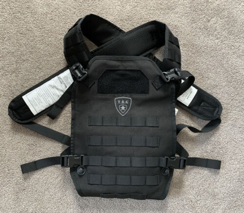 Tactical Baby Gear Carrier Black EUC  - $89.99