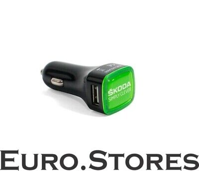 SKODA MVF03 478 Car Cigarette Lighter Charger USB Adapter Black Best