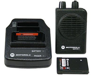 New Motorola Minitor V 5 Vhf 151-159mhz 2 Channels - Fire - Ems - Vfd