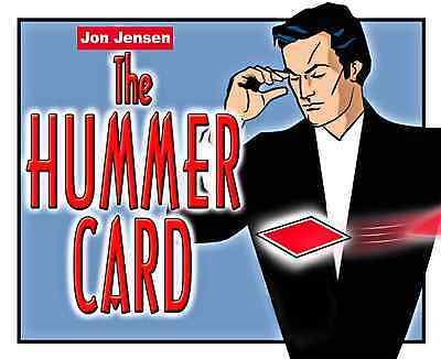 The Hummer Card - Zaubertrick /  Zaubern - Magic