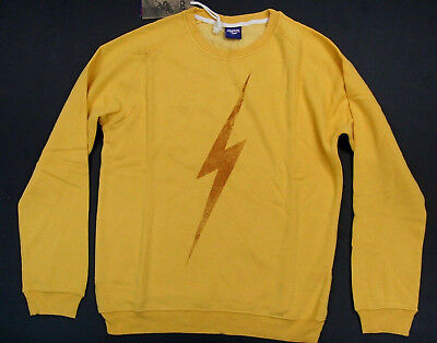 Lightning Long Sleeve (Lightning Bolt Long Sleeve Crew Neck Sweatshirt Big Bolt Golden Rod Surf Bolt )