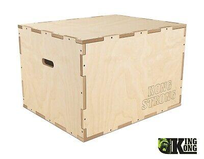 Crossfit Plyometric KING KONG Jump Box made to order, 3 in 1 20''/24''/30''