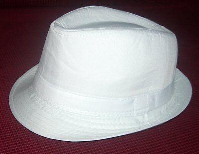Fedora Kinder Hut - Weißer Fedora Hut