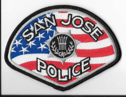San Jose Police Department, California 4th of July Collectible 2021 Patch