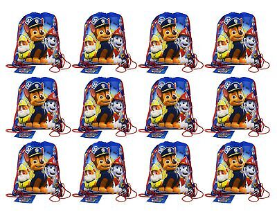 Paw Patrol Non Woven Sling Bag Party Pack - 12 bags 14