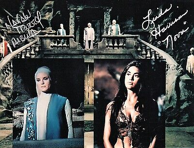 Natalie Trundy Linda Harrison Planet of the Apes DOUBLE Signed AUTOGRAPH Photo