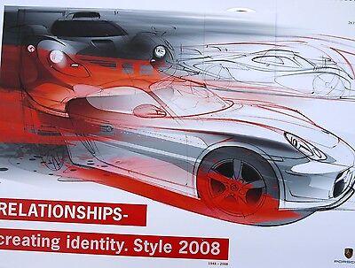 Porsche 2008 Design Calendar, Relationships- creating identity. Style 2008