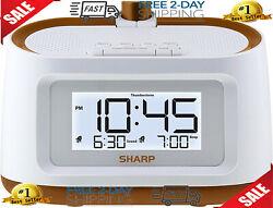 Sharp Projection Alarm Clock With Soothing Nature Sleep Sounds On Wall Ceiling