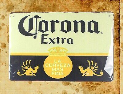 US Seller- outdoor wall decor Corona Extra Beer Cerveza tin metal sign