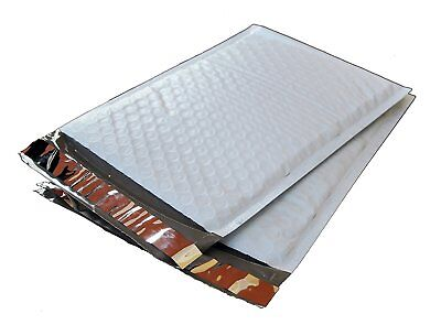 100 4 9.5x14.5 Poly Bubble Lined Mailers Padded Envelopes Mail Bags 9.5 X 14.5