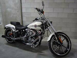 2014 low km Harley Davidson Breakout ( FXSB ) ( MY2014 ) Redcliffe Redcliffe Area Preview