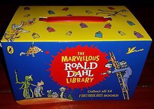 The Marvellous Roald Dahl Library Set 14 Books + Case Merrylands Parramatta Area Preview