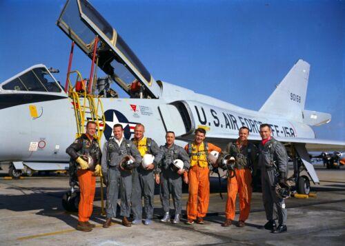 Mercury Seven Astronauts-Carpenter-Cooper-Glenn-Grissom-Schirra-Shepard-Slayton