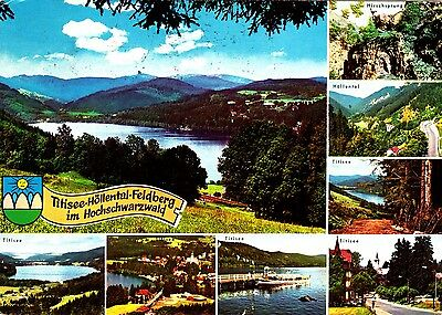 Titise Höllensee Feldberg , Ansichtskarte, gelaufen