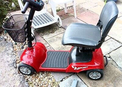 Betterlife mobility scooter 4mph fits in car boot *Brand New Batteries fitted*