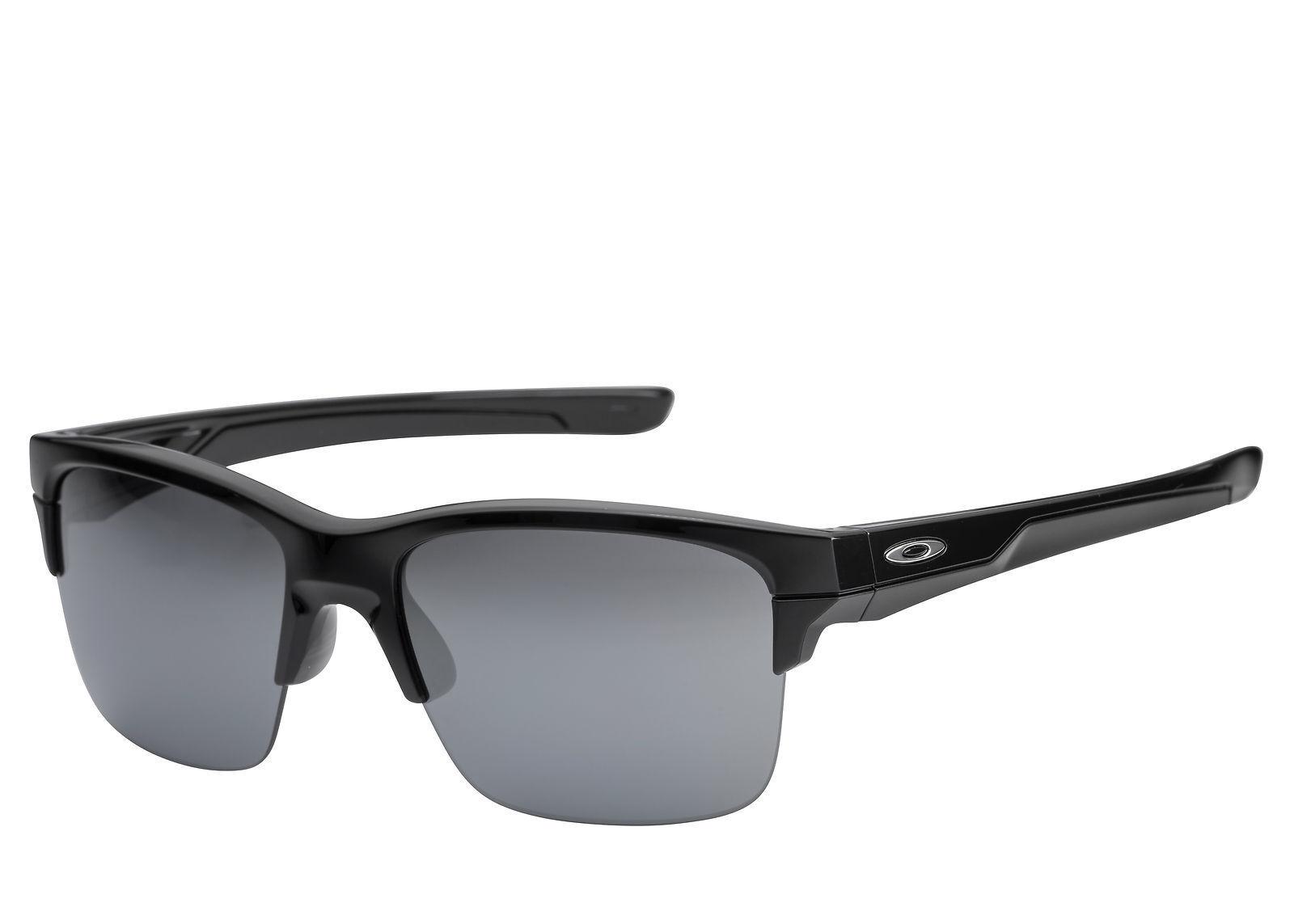 d441ddebb3 Oakley USA Semi Rimless Thinlink Polished Iridium Black Sunglasses OO9316-03